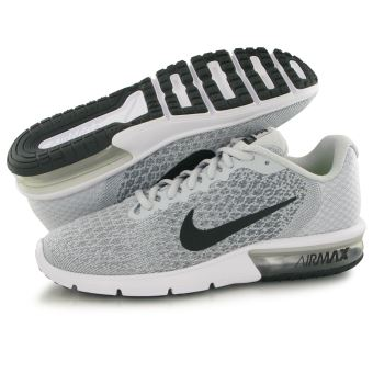 Nike Air Max Sequent 2 gris, baskets mode homme Chaussures
