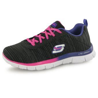 Skechers Glitter noir, baskets mode enfant Chaussures et