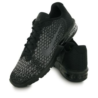 Nike Air Max Sequent 2 noir, baskets mode homme Chaussures