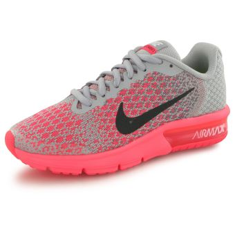Nike Air Max Sequent 2 rose, baskets mode enfant