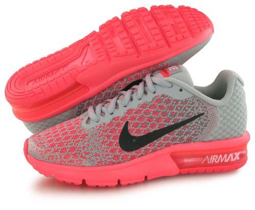 Nike Air Max Sequent 2 rose, baskets mode enfant