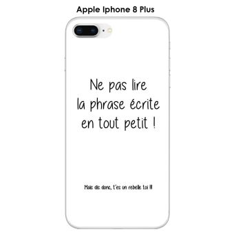 coque iphone 8 plus texte