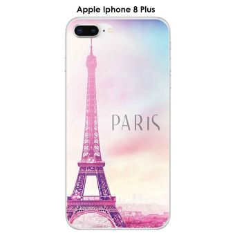 Coque Apple Iphone 8 PLUS design Paris