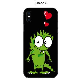 iphone x coque monster