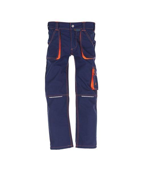 Pantalon Basalt Junior(Marine/Orange-T4 Ans)