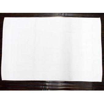 Tapis De Bain Luxe Uni 100 Coton Blanc Achat Prix Fnac