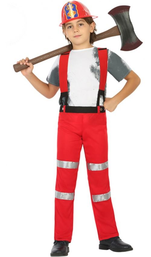 Déguisement Sapeur-Pompier - Enfant Taille : 5-6 ans (105-116 cm)