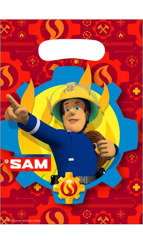 Sachets Anniversaire - Sam le Pompier™ x 20