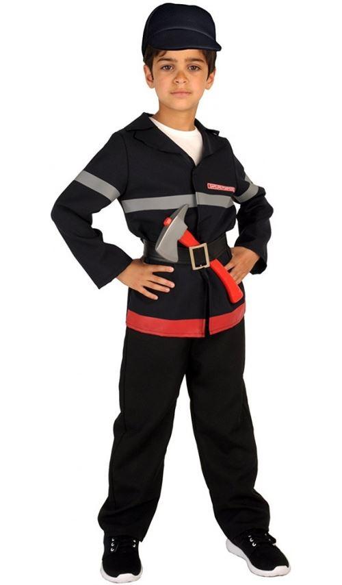 Déguisement Sapeur Pompier - Enfant Taille : 5/7 ans (108 à 120cm)