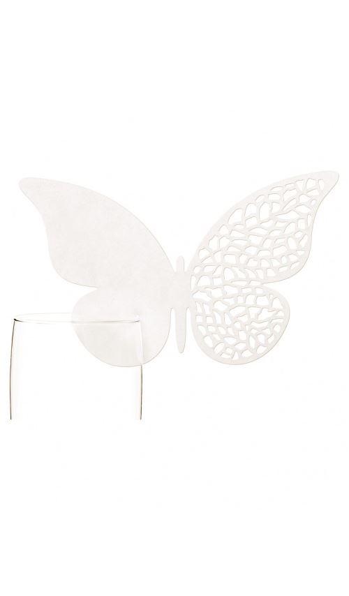 Marque-places - Papillon x 10