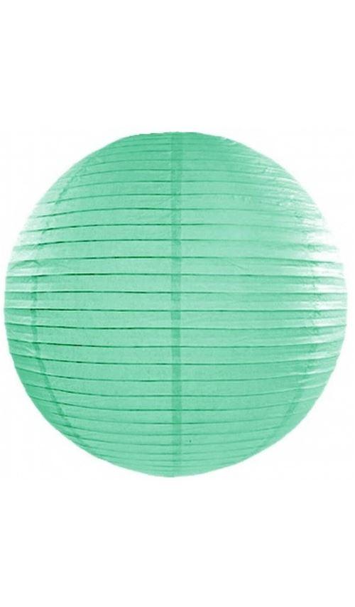 Lanterne Boule - Mint x 35 cm
