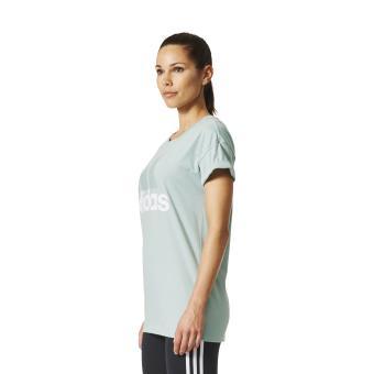 tee shirt adidas vert femme soldes