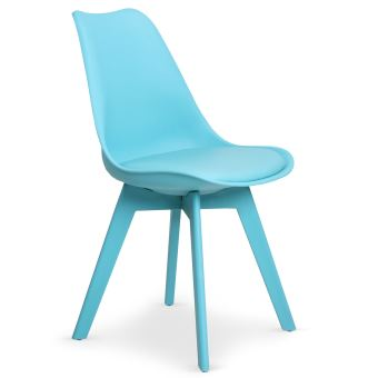 Colors Bleu Chaises De Emma Deux Style Scandinave Achatamp; Prix Lot xdCerBo
