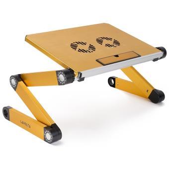 Support Table De Lit Pliable Inclinable Pour Pc Ordinateur Portable