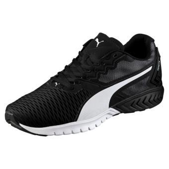 chaussure puma noir et blanche