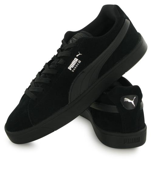 Chaussures Puma Suède Mono Noires Taille 45