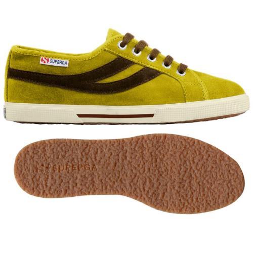 Superga sneakers 2951 sueu pour homme et adulte style classique couleur unie