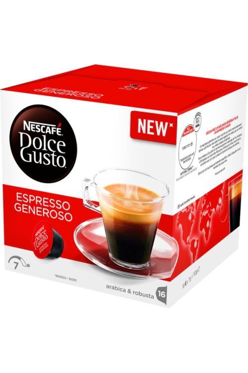 Capsule café Dolce Gusto NESCAFE Dolce Gusto Espresso Generoso