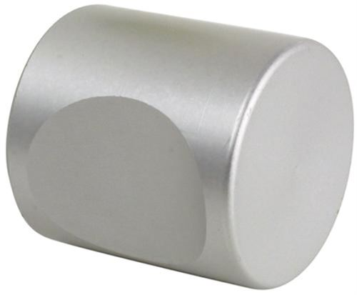 Bouton à encoche BLINDOMAX Ø25 mm argent - AL4001-25AR