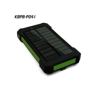 batterie externe portable 10000 mah avec chargeur solaire kbpb p041 vert chargeur pour. Black Bedroom Furniture Sets. Home Design Ideas