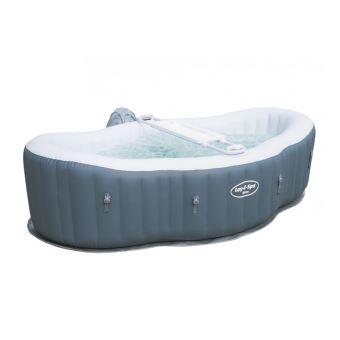 Spa Gonflable Bestway Siena 2 Places Jacuzzi Et Sauna