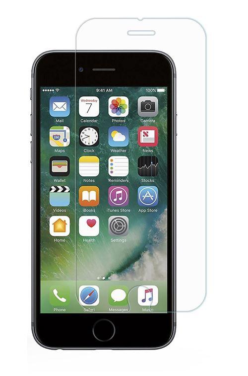 Coque pour Apple iPhone 7 Coque Magnetique Noir Verre Trempe Houe Etui 360 Integral Full Protection Metal Film Vitre Ecran Ultra Resistant Phonillico