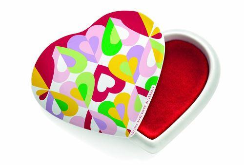 Ritzenhoff Le Petit China Boîte à trésors en forme de cœur par Melissa Anne Kwee