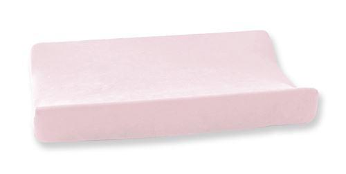 Cottonbaby housse de matelas à langer en velours 48 x 72 cm rose