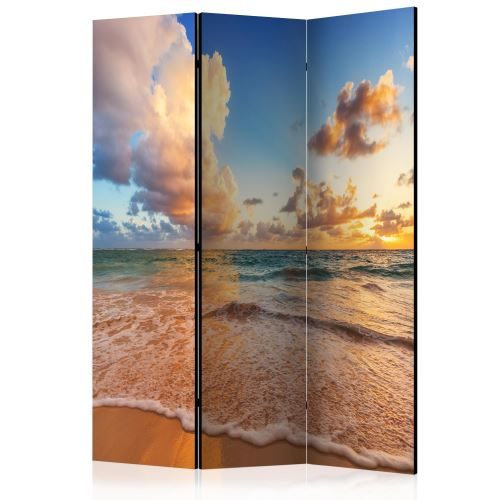 Paravent 3 volets - Morning by the Sea [Room Dividers] - Décoration, image, art | 135x172 cm |