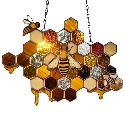Pendentif abeille Exquis magnifique-multicolore