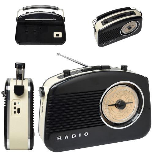 Radio 60's bluetooth noire