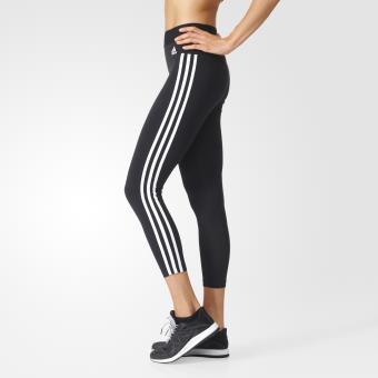 Leggings Essentials 3 Stripes Femme bleu Adidas