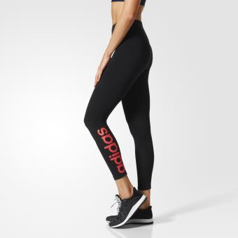 Adidas Legging Essentials Linear noir/rose saumon Taille 2XL ...
