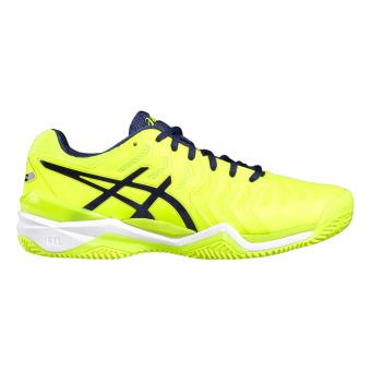 photos officielles e0c6c 1dce0 Asics - Chaussures Asics Gel-resolution 7 Clay - 39 - jaune ...