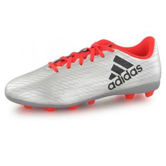 Adidas X16.4 Fg gris, chaussures de football enfant