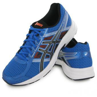 Chaussures Homme Asics Bleu 4 Running Contend Gel De II47w0Uq