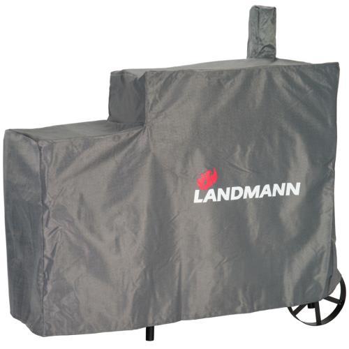 Landmann Housse de barbecue Premium L 130 x 60 120 cm Gris
