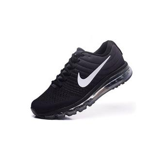 baskets nike air max 2017 femme chaussures de running femme noir et blanc taille 39 achat. Black Bedroom Furniture Sets. Home Design Ideas