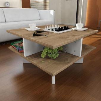 Basse Blanc Achatamp; Table Noyer PrixFnac Hamton WIY9EDH2