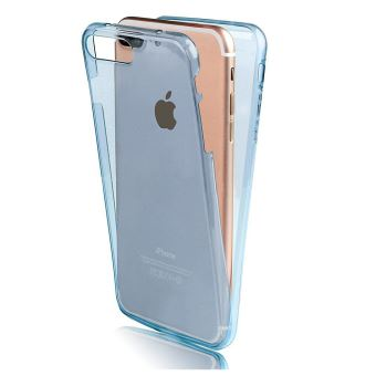 iphone 8 plus coque bleu