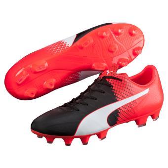 Noirblancrougefluo Chaussures Puma 4 Tricks Fg Evospeed 5 54jLAR