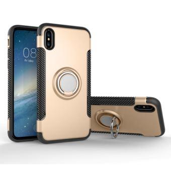 coque iphone x support magnetique