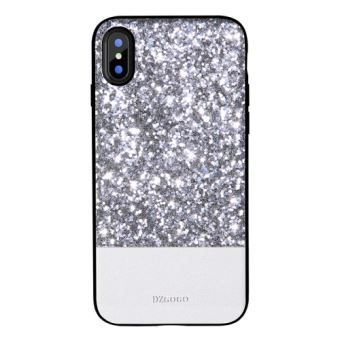 coque iphone x à paillette