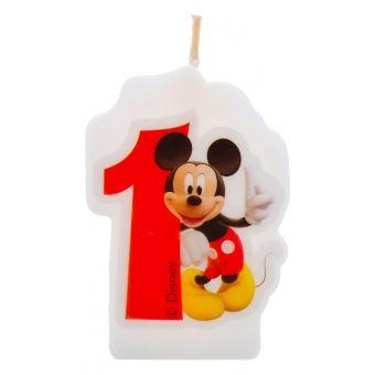 Bougie Anniversaire Mickey 1 An