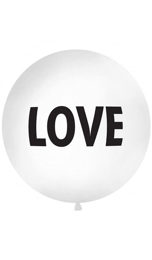Ballon de Baudruche Rond - XL - Love