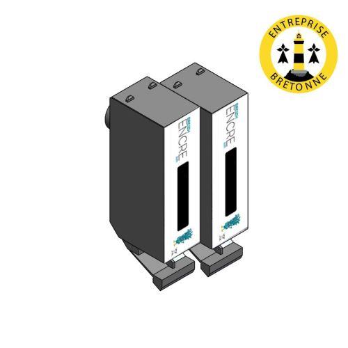 Pack HP 364 XL x2 Noir compatible