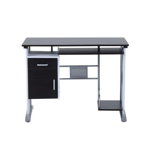 50 sur Bureau informatique design noir et blanc Achat prix fnac