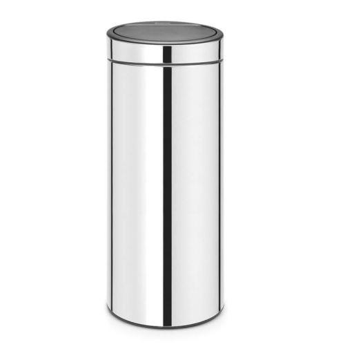 Poubelle 30l brilliant steel - 115325 - Brabantia
