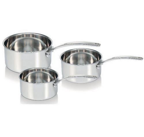 Série de 3 casseroles inox 16/18/20cm - 13416974 - Beka