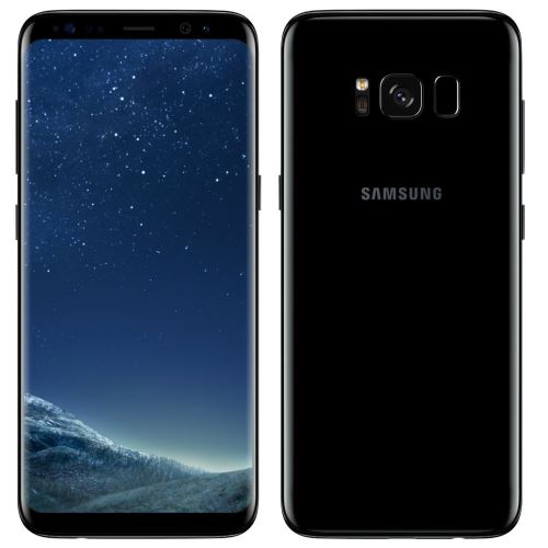 Samsung Galaxy S8 Plus G955FD 4G 64Go Dual Sim Désimlocké - Noir Carbone + Protecteur d écran